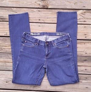 GUC Rail Straight Madewell jeans